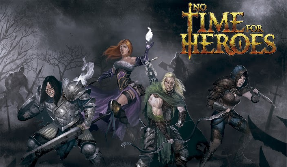 Personajes No time for heroes