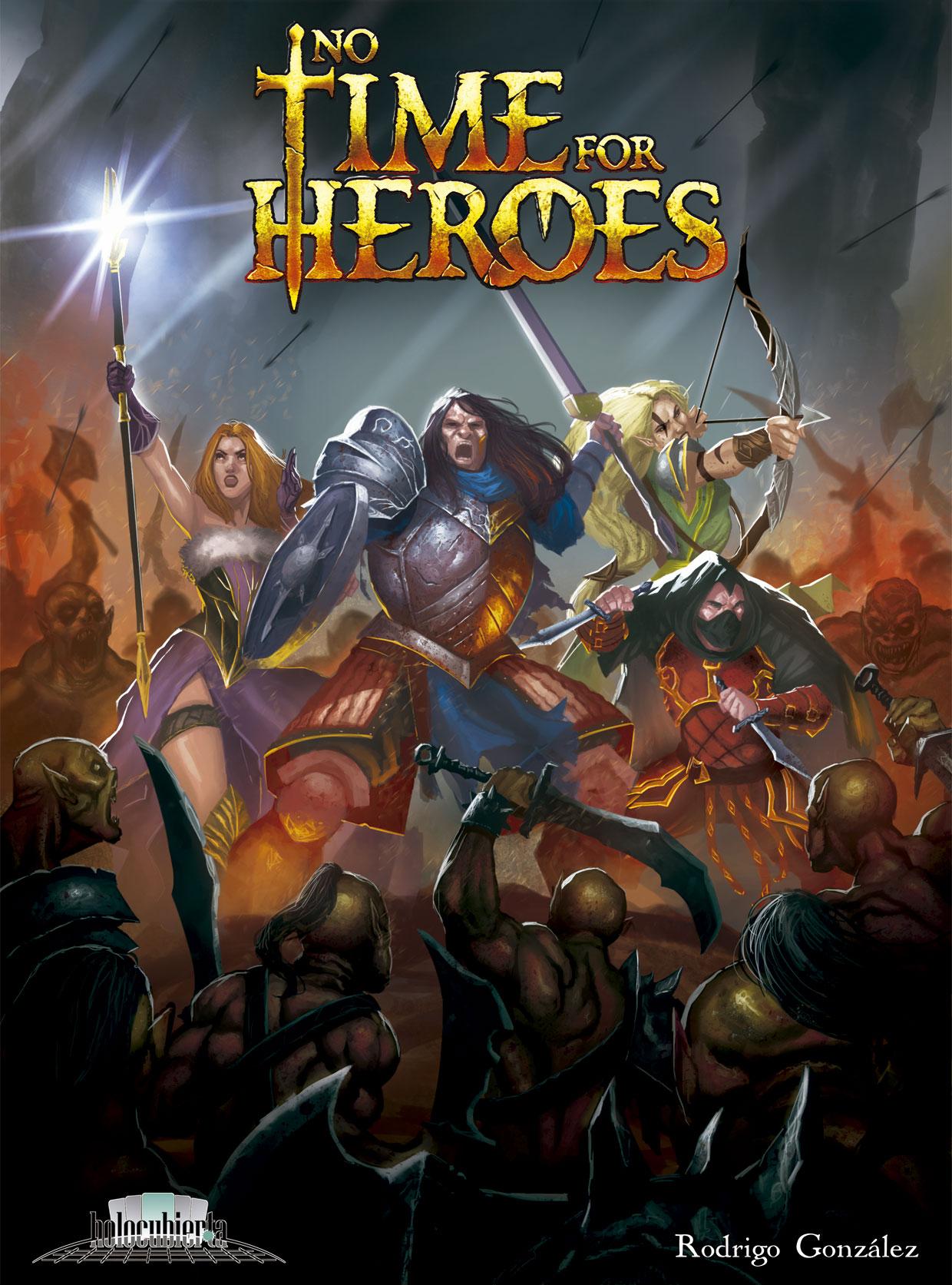 Juegos de mesa no time for heroes for Time stories juego de mesa